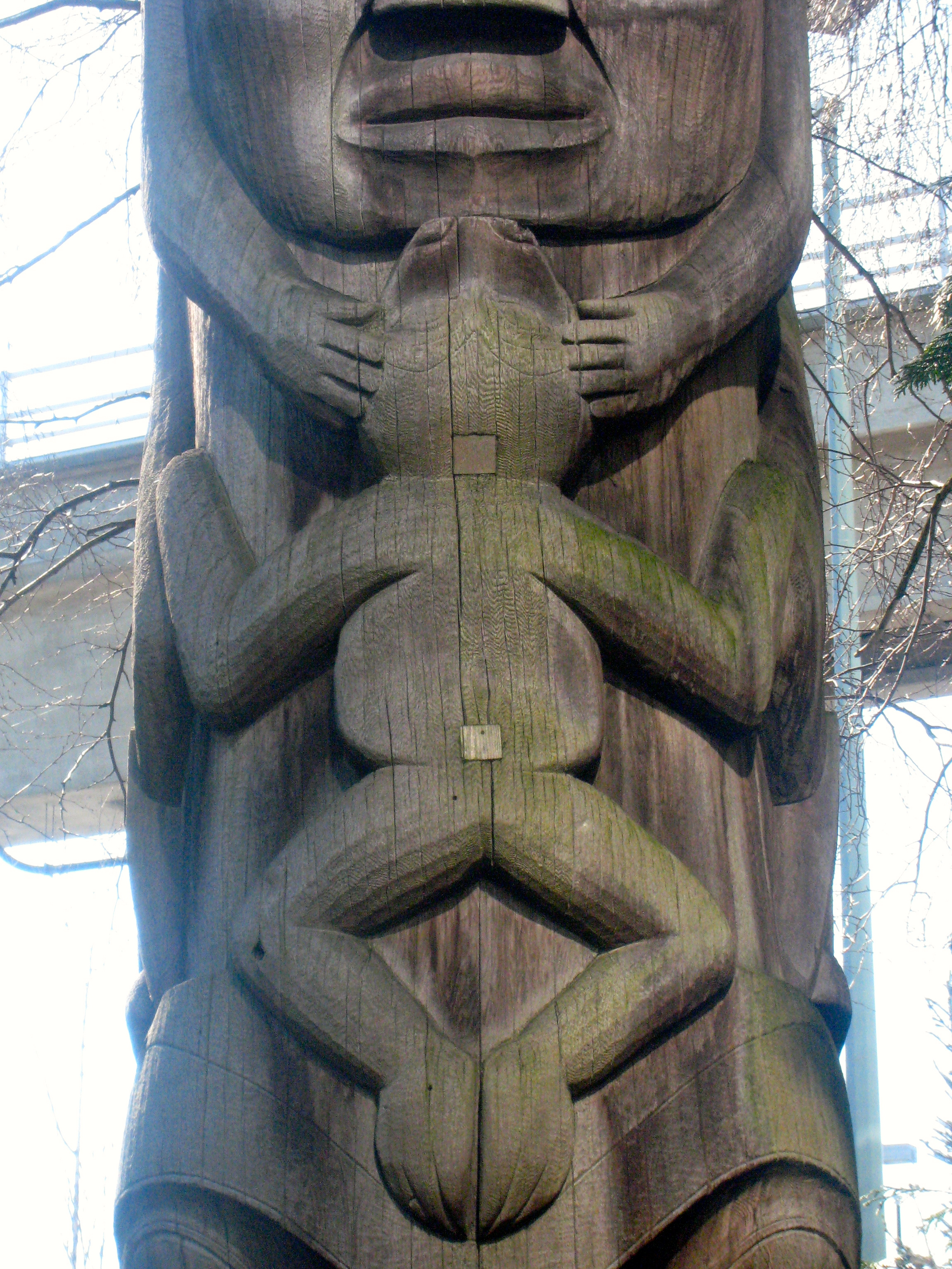 Learning About Totem Poles In Vancouver British Columbia