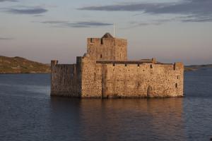 Kisimul Castle Isle of Barra home of the Clan MacNeil