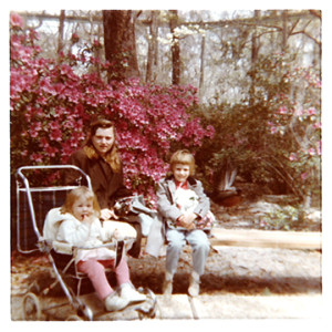 Susan, Linda, and Sandra Friend at Rainbow Springs, 1969