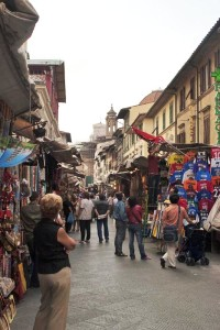 Street Market around San Lorenzo, Florence (Photo copyright by Stillman Rogers Photography)