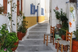 A street on Nisyros