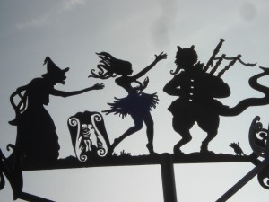 The witches dancing in Tam o' Shanter