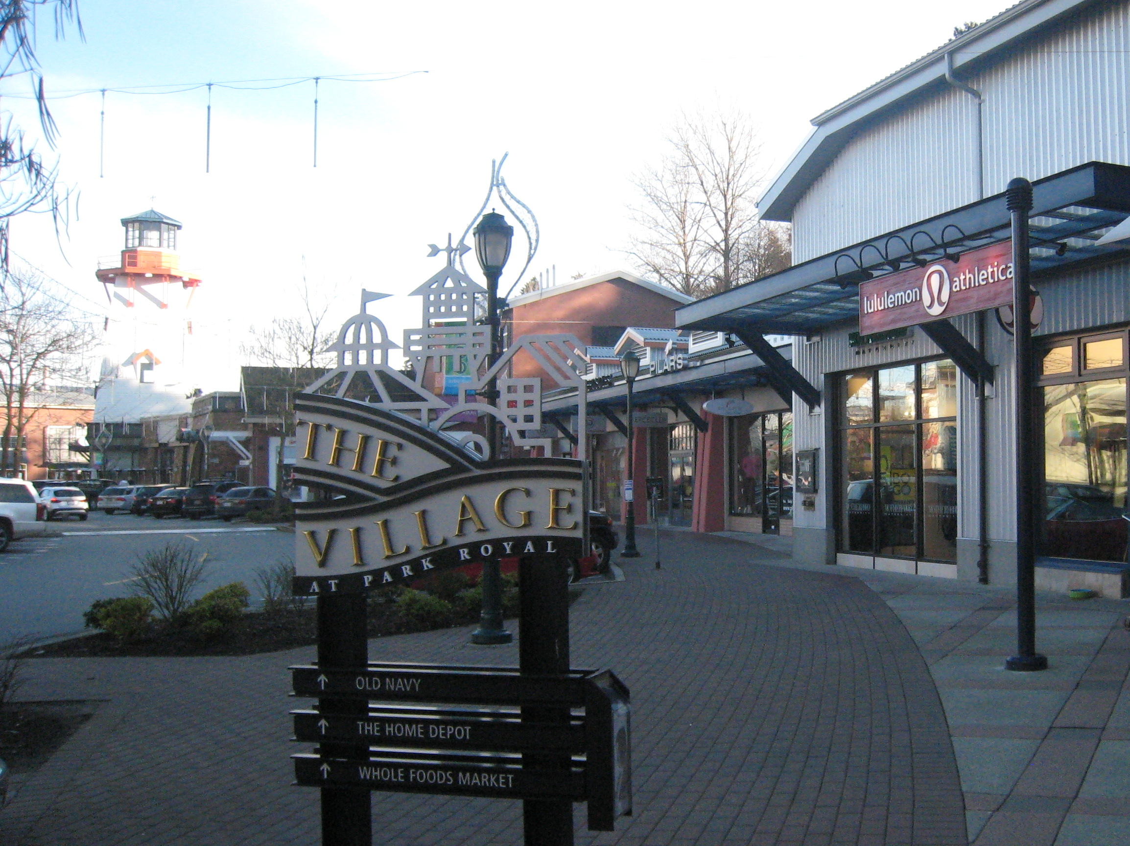 The Village At Park Royal Mall In West Vancouver Photo Credit MCArnott