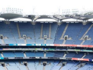 Croke Park has a capacity of over 80,00, making it the fourth largest sports stadium in Europe