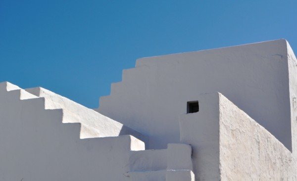 Blue and white on Sifnos