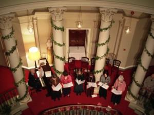Carol Singers Sang Below us (Ann Burnett)