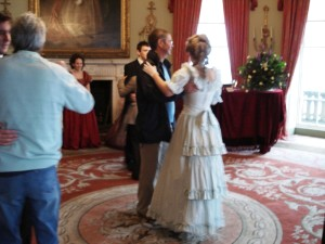 Dancing in the Drawing-room