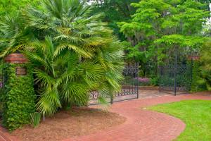 Maclay Gardens entrance