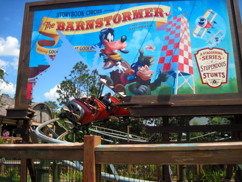 The Barnstormer in Fantasyland