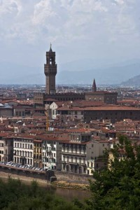 Santa Croce lies along the Arno River (Photo copyright Stillman Rogers Photography)