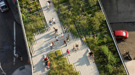 High Line from above by Iwan Baan