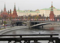 View of the Kremlin from the Moscow River
