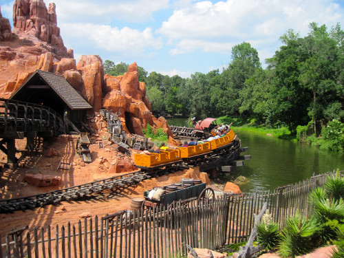 Big Thunder Mountain Railway (photo by John Keatley)