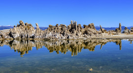 Beautiful tufa towers of Mono Lake. Photo by Yvette Cardozo.