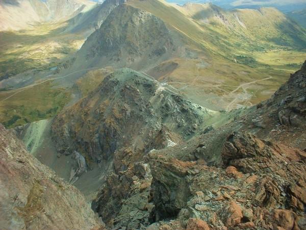 Mountains in the remote far northwest corner of B.C. east of Juneau, Alaska. Courtesy: The Jade Mine)
