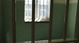 A prisoner's cell, Robben Island, Cape Town (Ann Burnett 2013)