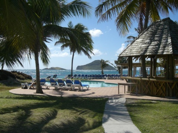 """The """"Harmony"""" side of Coconut Bay is the peaceful adults-only area."""