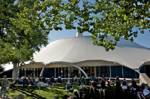 Aspen Music Festival's Tent and Lawn. Photo: Alex Irvin