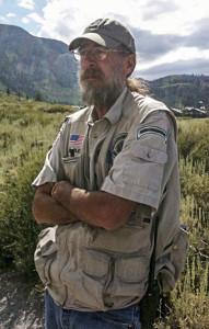 Steve Searles, Mammoth Mountain's bear whisperer. Photo courtesy of Steve Searles.