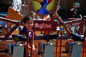 Kids get a kick out of rides at Dollywood, which range from mild to wild. (photo credit: Katherine Rodeghier c 2013)