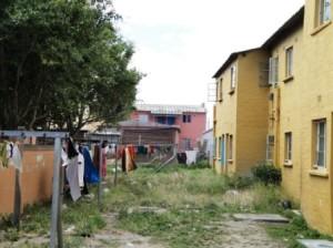 Hostel blocks in Langa. (photo credit and copyright Ann Burnett)