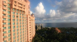 Atlantis view from Royal Tower