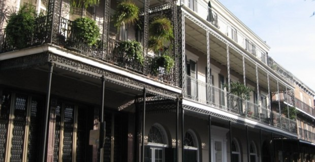 Beautiful Balconies in New Orleans