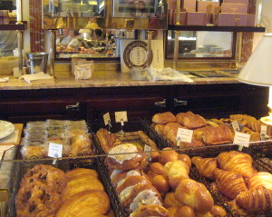Laduree brioches, croissants and other temptations (Photo credit: MCArnott)