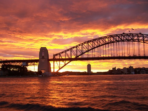 Harbour Bridge from the Opera House (photo: Anthony Toole