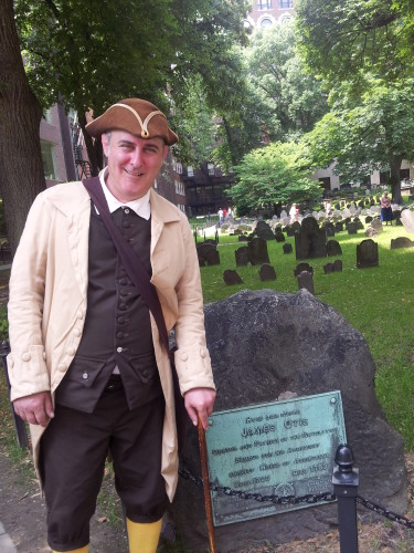 """George Wright"" Boston Freedom Trail Guide"