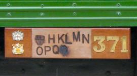 A Cart Marking plaque (Photo credit: MCArnott)