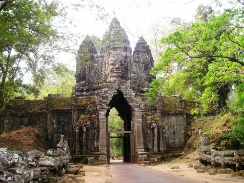 Angkor Thom ancient city near Siem Reap, Cambodia