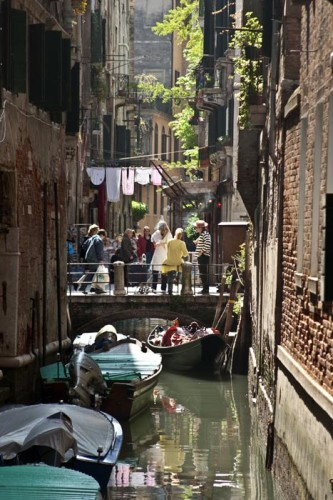 San Polo is filled with intimate canal scenes and quiet streets (Photo copyright Stillman Rogers)