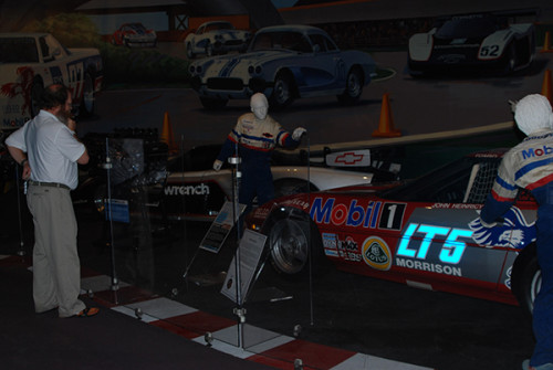 Corvette Museum displays