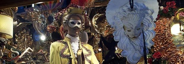 Mask Shop in San Polo, Venice (Photo copyright Stillman Rogers)
