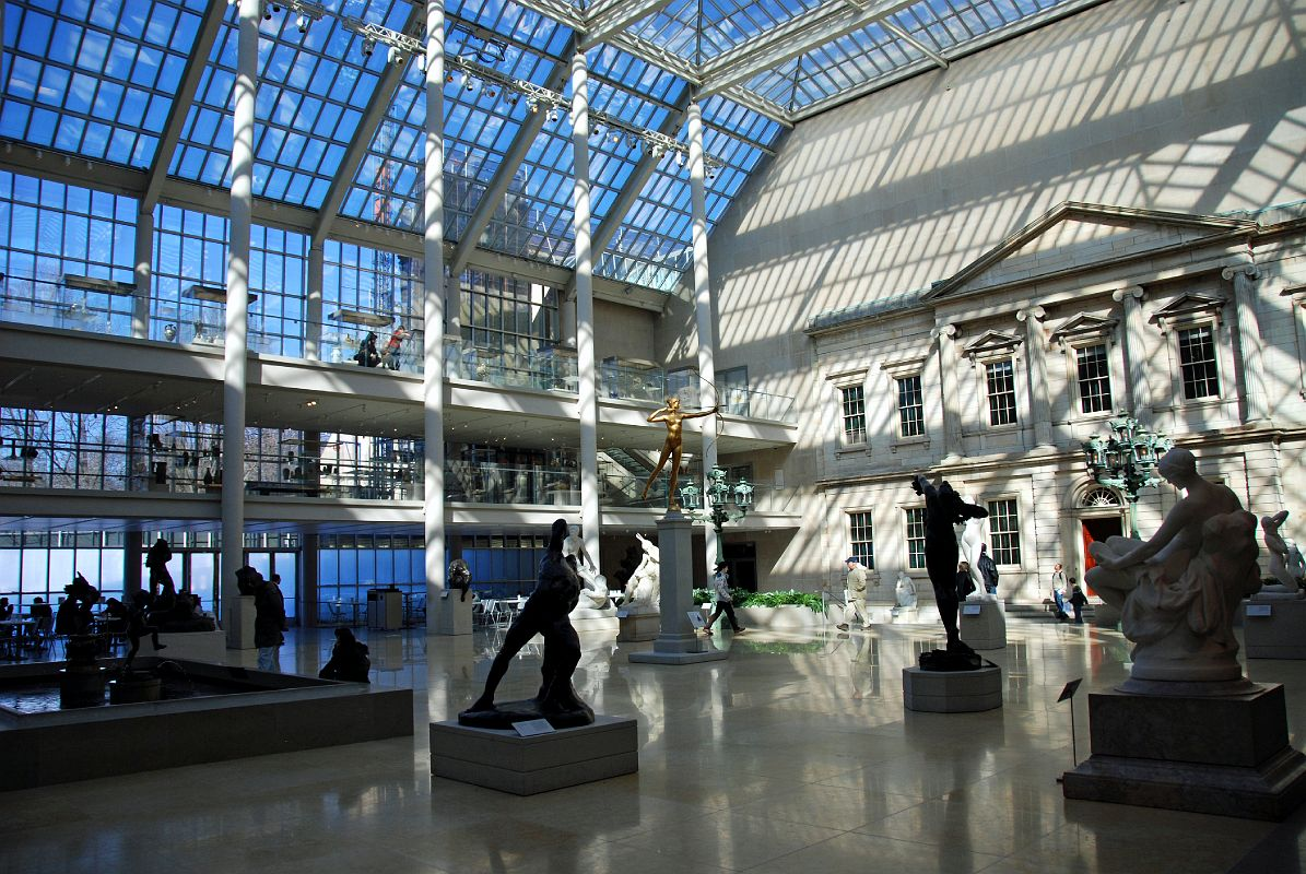 Personal experience of going in the metropolitan museum of art