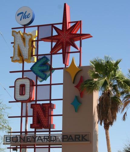 Neon Museum Sign in Las Vegas Nevada