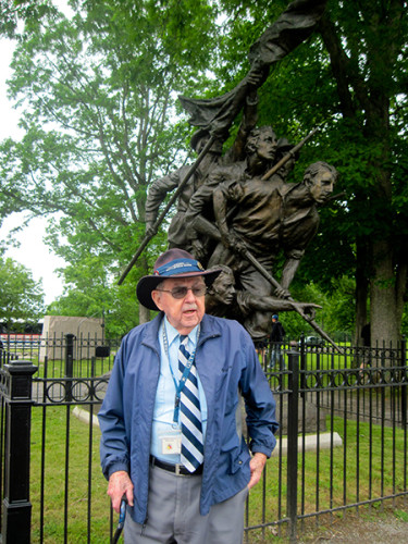 Jim Tate, our Gettysburg Guide