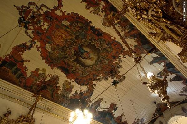 One of my favorite ceiling paintings in Brazil (©Coen Wubbels)