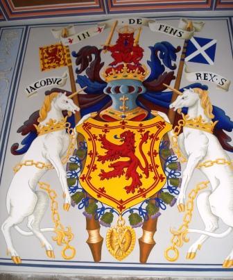 The Royal Coat of Arms (photo credit: Ann Burnett c2013)