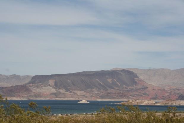 Fresh Blue Water in Lake Mead