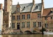 Boat trips are popular in picturesque Bruges