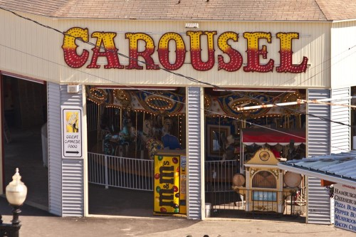 Carousel at Old Orchard Beach Maine (photo credit Stillman Rogers)