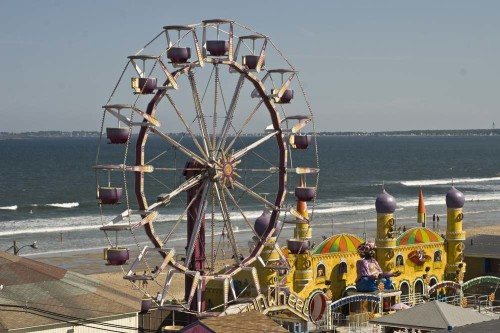 Ferris Wheel at Old Orchard Beach Maine (photo credit Stillman Rogers)