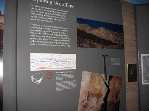 Learn about Geology at Lake Mead