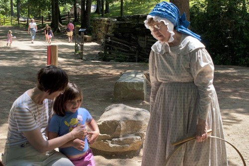 Learning games at Old Sturbridge Village (Photo credit Stillman Rogers)