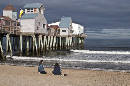 Old Orchard Beach Pier (Photo copyright Stillman Rogers)