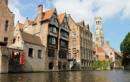 Bruges from th water