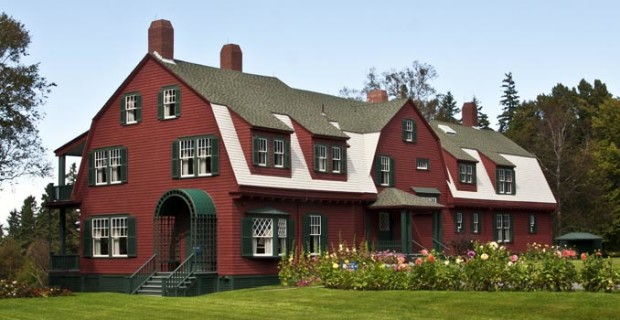Roosevelt Cottage, Roosevelt Campobello International Park (Photo copyright Stillman Rogers)