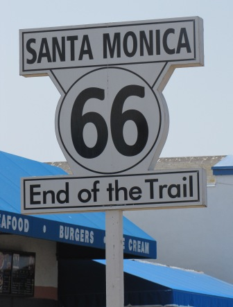 The Western End of Route 66